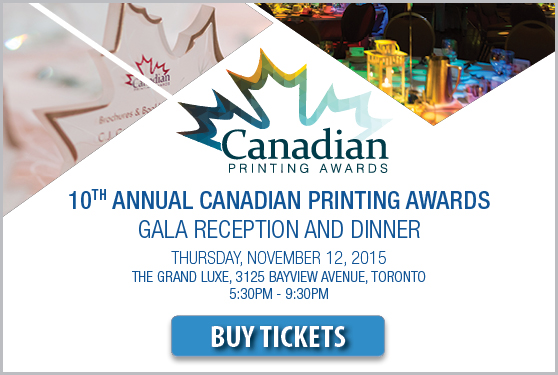CELEBRATE INNOVATION IN CANADIAN PRINTING