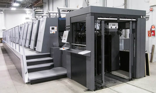 Mcara Printing Installs 10 Colour Heidelberg Perfector