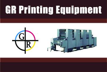 GR Printing Equipment