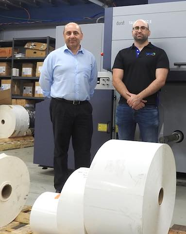 Less waste, more capacity for Wagner Prestige Labels with Durst Tau 330