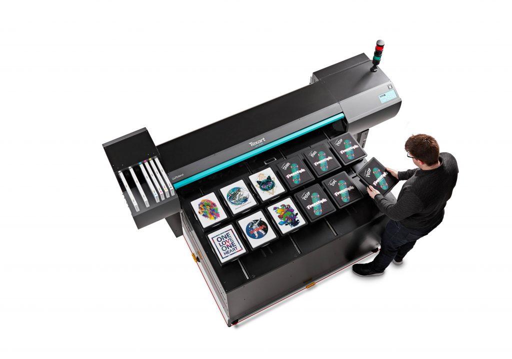 Roland DGA unveils new DTG printer